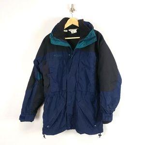 Columbia West Ridge Nylon Fleece Lined Ski Jacket